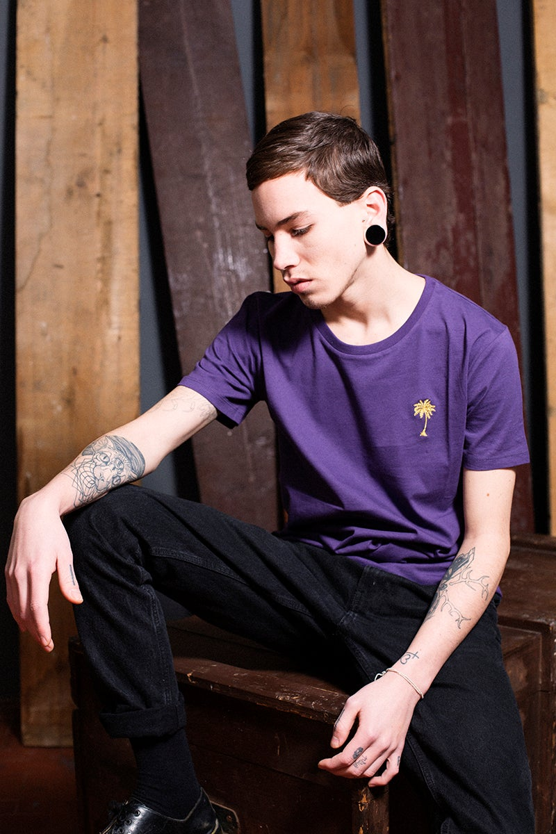 Image of TSHIRT / PURPLE / MAN