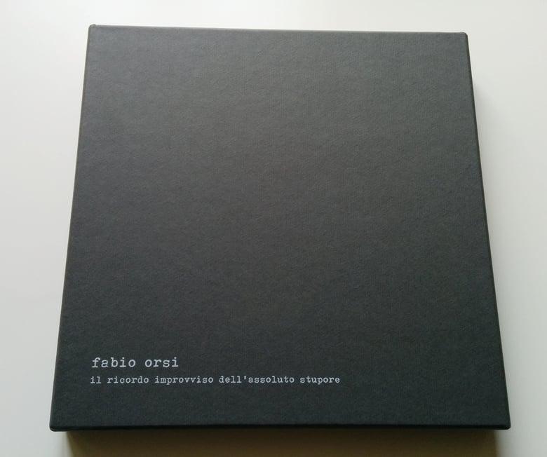 Image of FABIO ORSI - Il Ricordo Improvviso Dell'Assoluto Stupore BOX SET Book + LP Picture Disc [ltd.37]