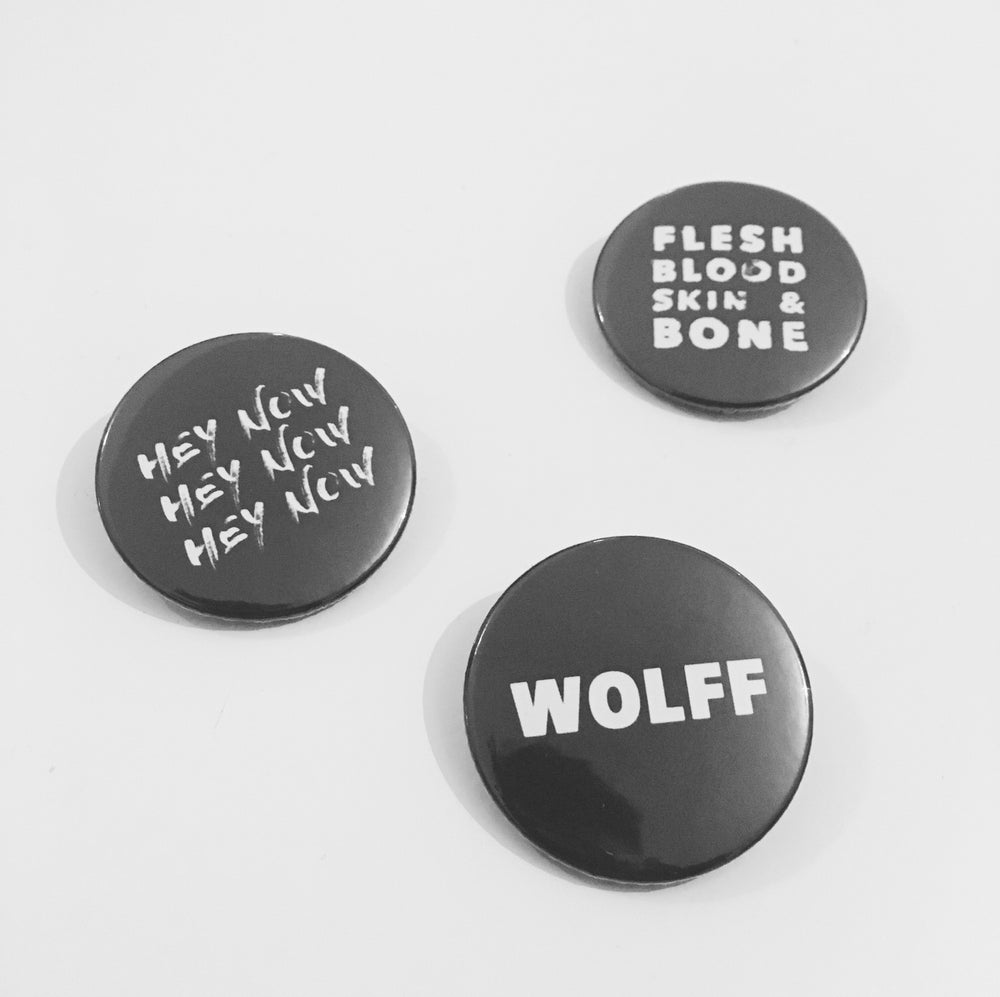 Image of WOLFF BADGE PACK