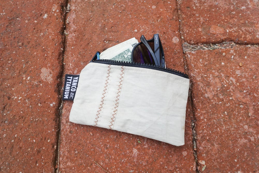 Image of Yanco for Tytanium Recycled Viault Sail Cloth Pouch