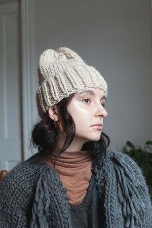 Image of Elora toque in Peruvian highland wool (more colours