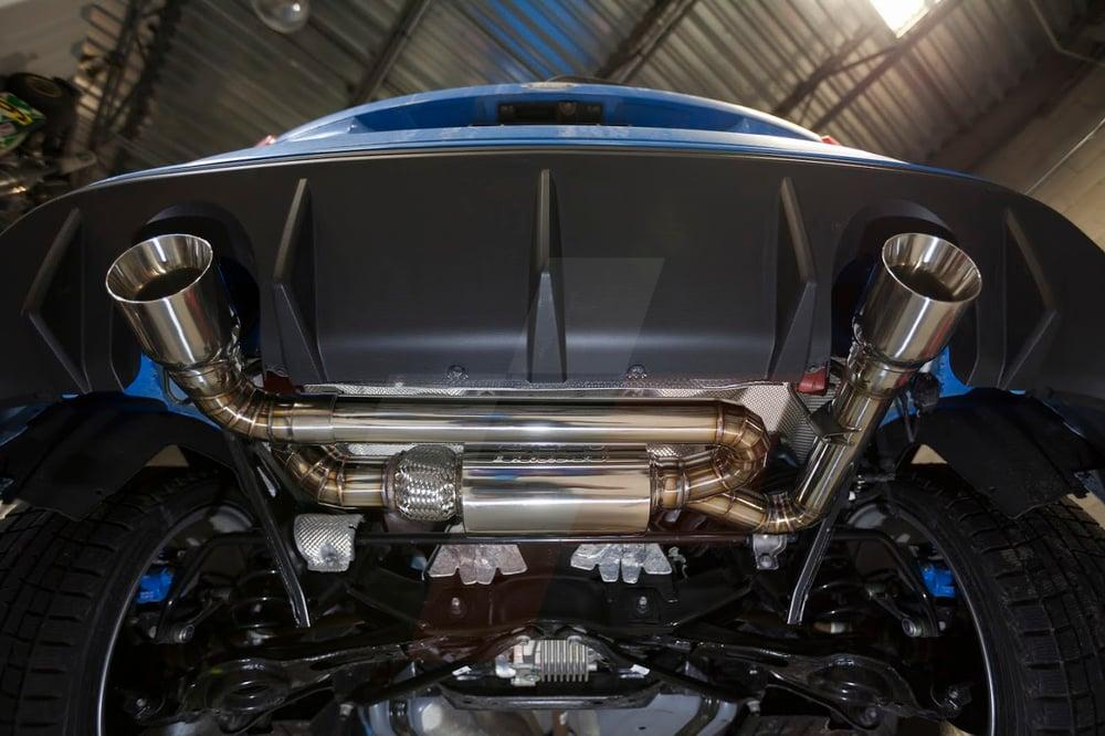 Ford Focus Custom Built Stainless Steel Exhaust Single – Desenhos