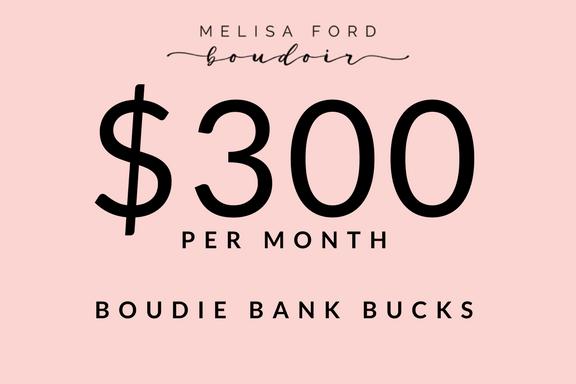 Image of $300 BOUDIE BANK BUCKS