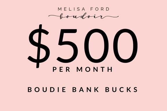 Image of $500 BOUDIE BANK BUCKS