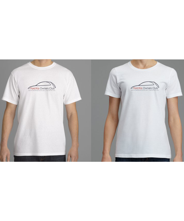 Menu Ford Ka Owners Club  C B Image Of Classic Club T Shirt