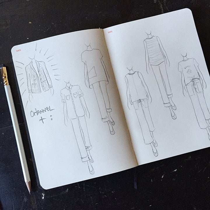 Image of Fashionary sketchbook