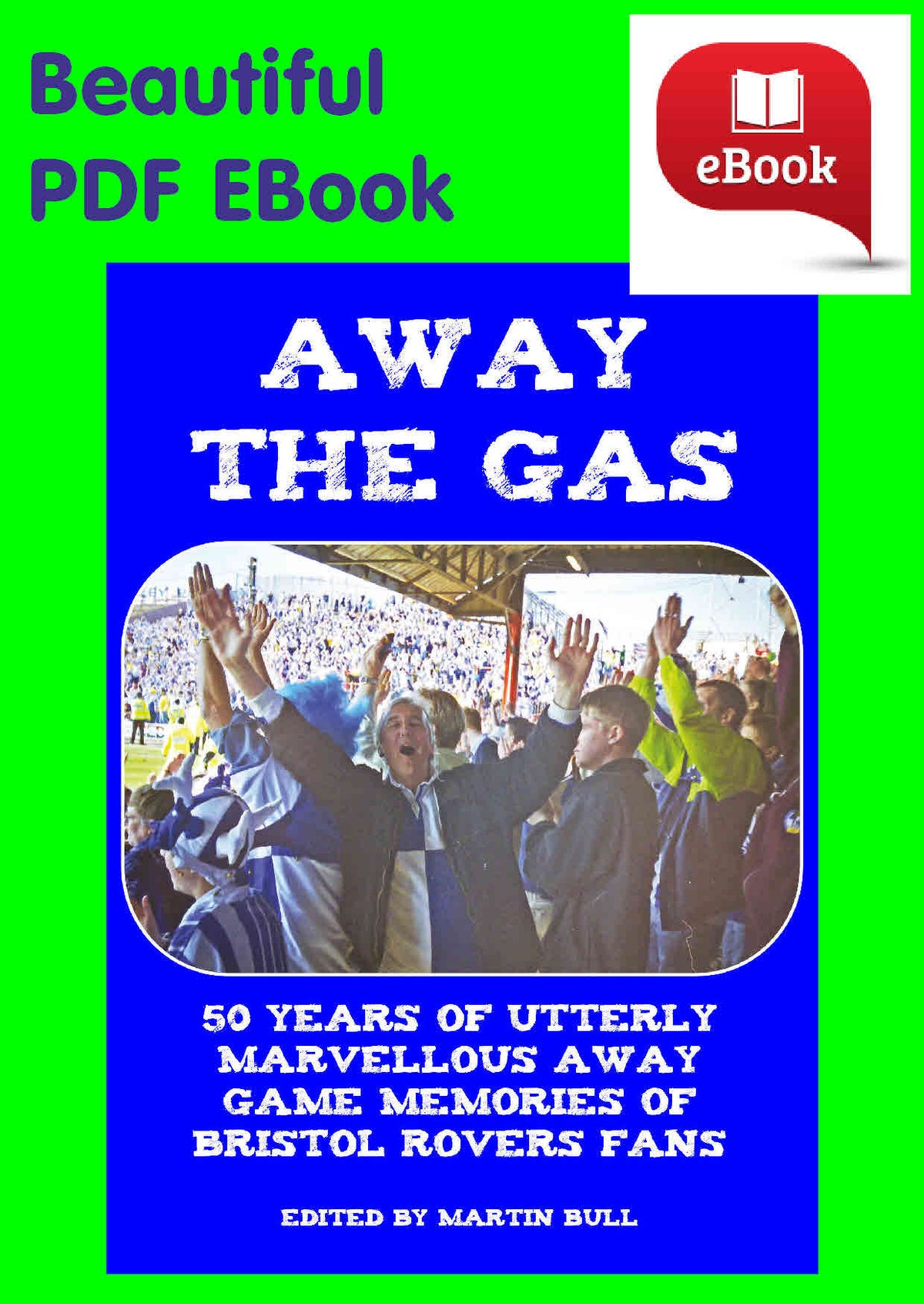 Image of Away The Gas - eBook [PDF] - Lovely 260 page colour book