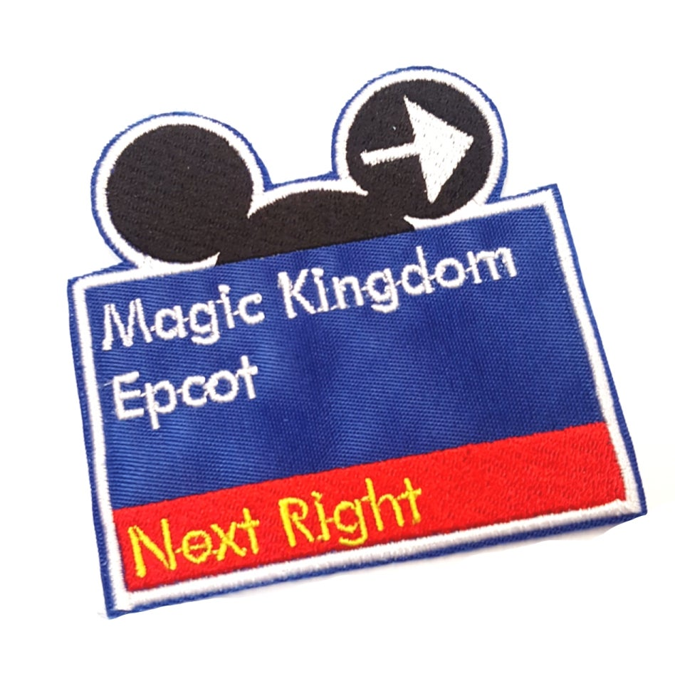 Image of WDW SIGN Patch