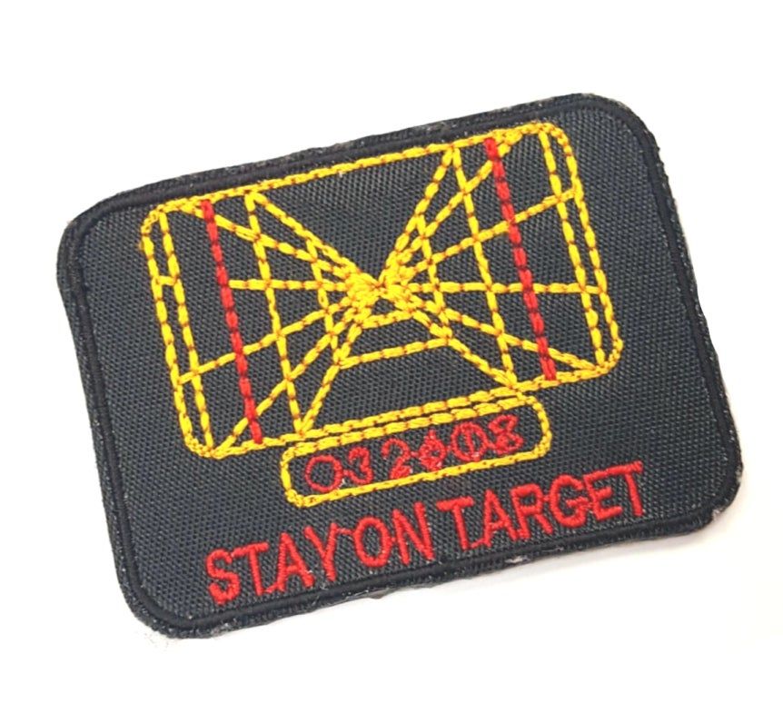 Image of Stay On Target Patch