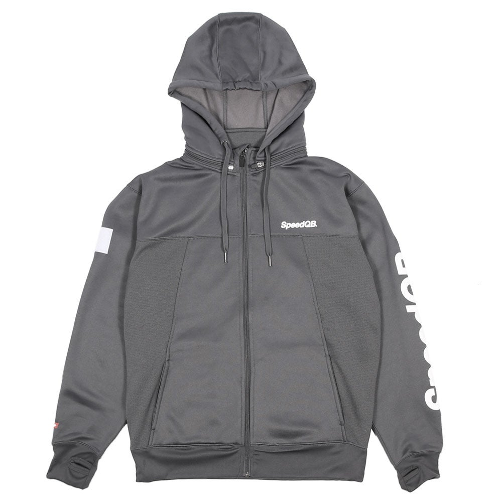 Image of SpeedQB Tech Zip Hoodie (Grey)