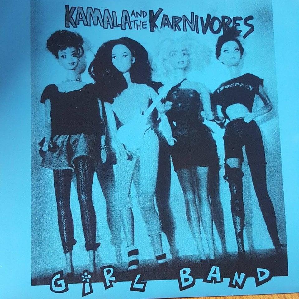 """Image of """"Girl Band"""" - Kamala and the Karnivores (7"""" vinyl)"""