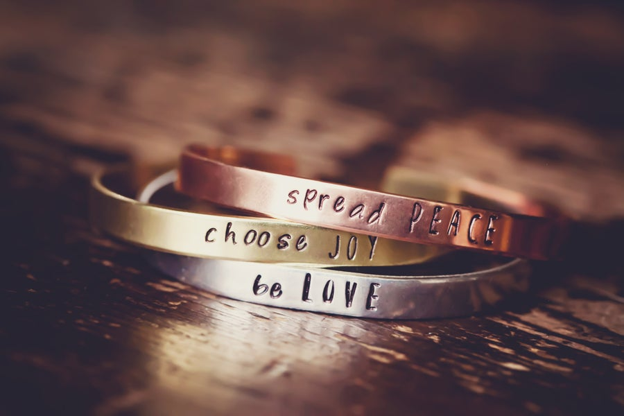 Image of know your purpose bracelets