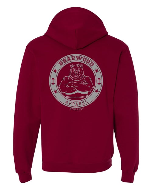 Image of BW ZipUp Sweater - Cardinal Red  - SF73R