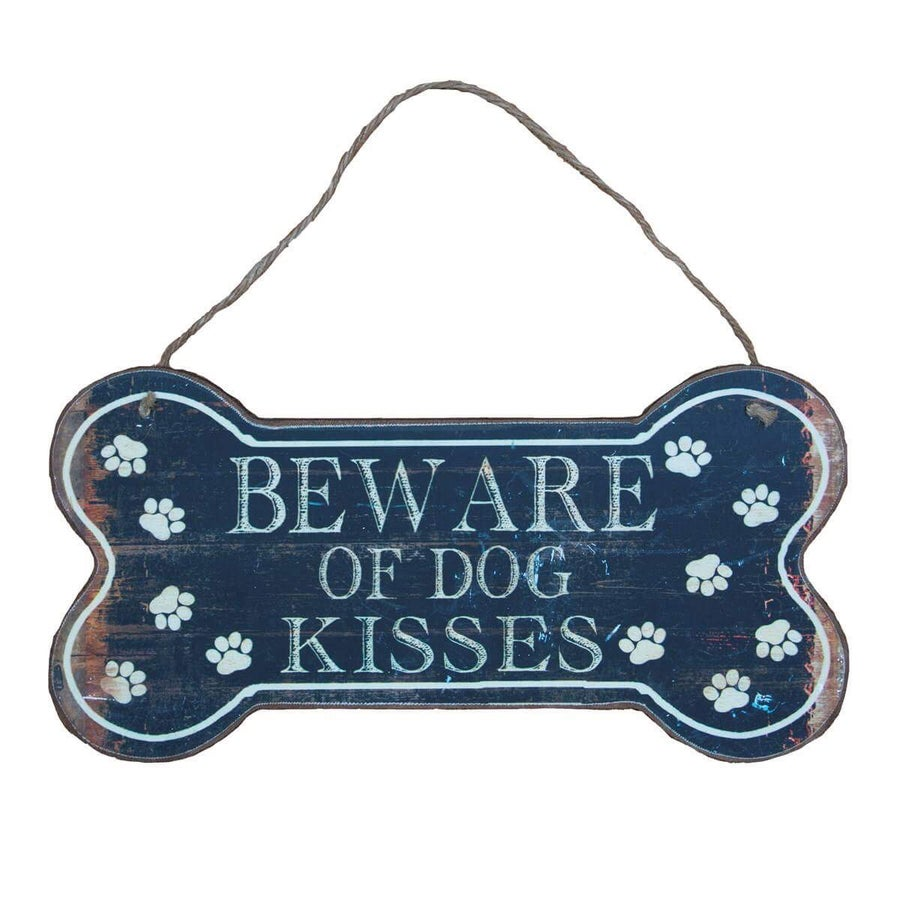 Image of Dog kisses plaque