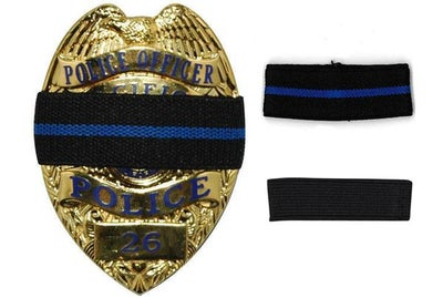 Image of Mourning Band for Badge