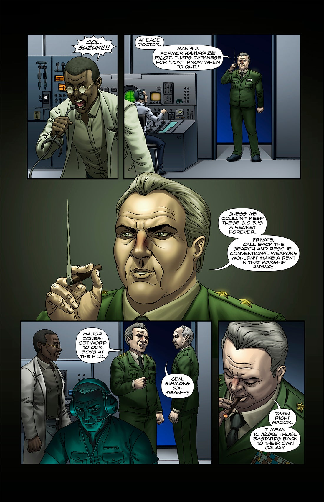 Image of F-00 FIGHTERS #3 [print comic]