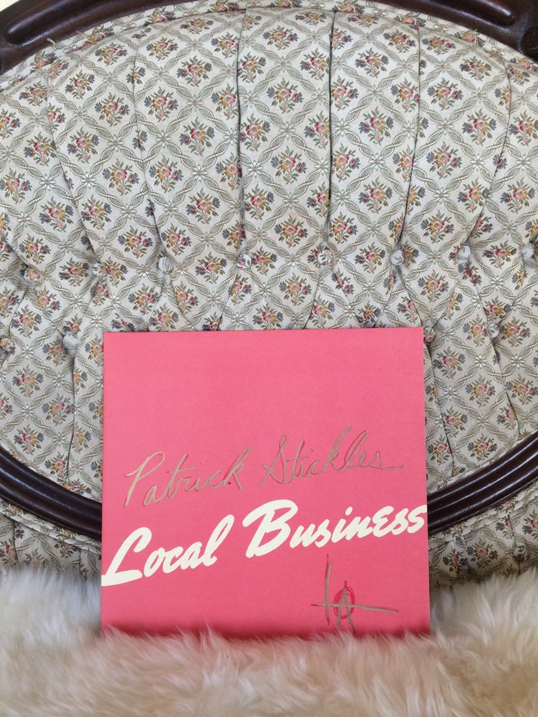 "Image of 'Local Business' 12"" LP *AUTOGRAPHED*"