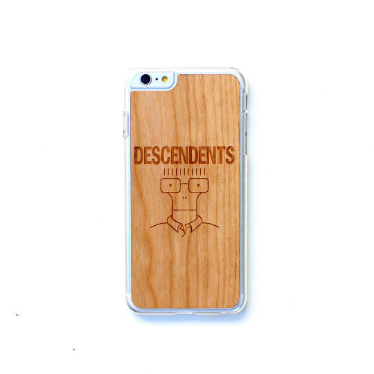 Image of TIMBER Wood Skin Case (iPhone, Samsung Galaxy) : Descendents Edition