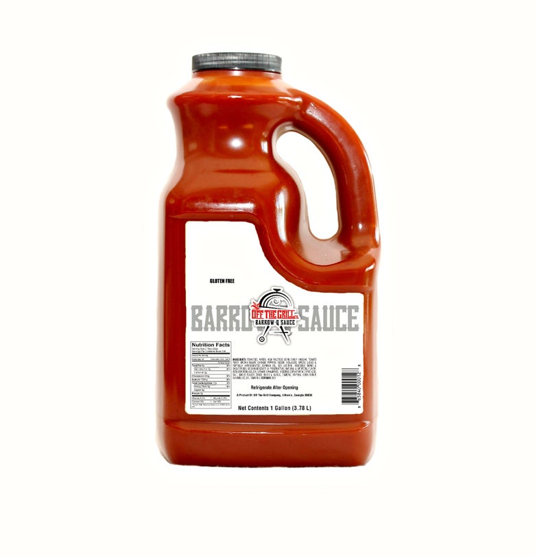 Image of Barrow-Q Sauce - 1 Gallon Bottle