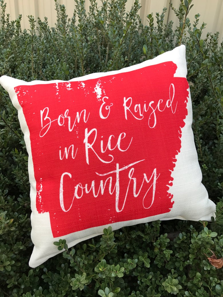 Image of Arkansas Rice Pillow