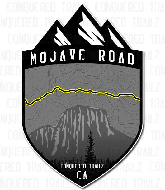 "Image of ""Mojave Road"" Trail Badge"