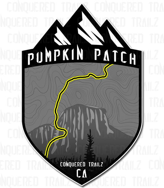 """Image of """"Pumpkin Patch"""" Trail Badge"""