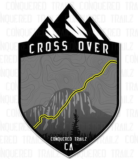 "Image of ""Cross Over"" Trail Badge"
