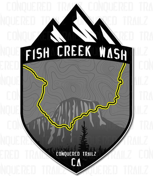 "Image of ""Fish Creek Wash"" Trail Badge"