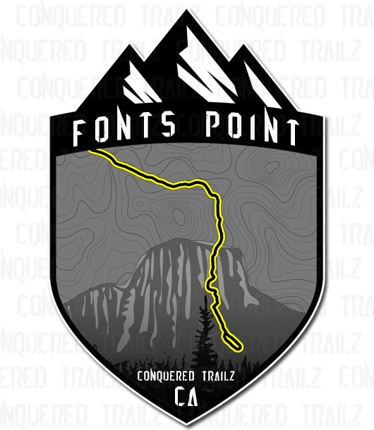 "Image of ""Fonts Point"" Trail Badge"