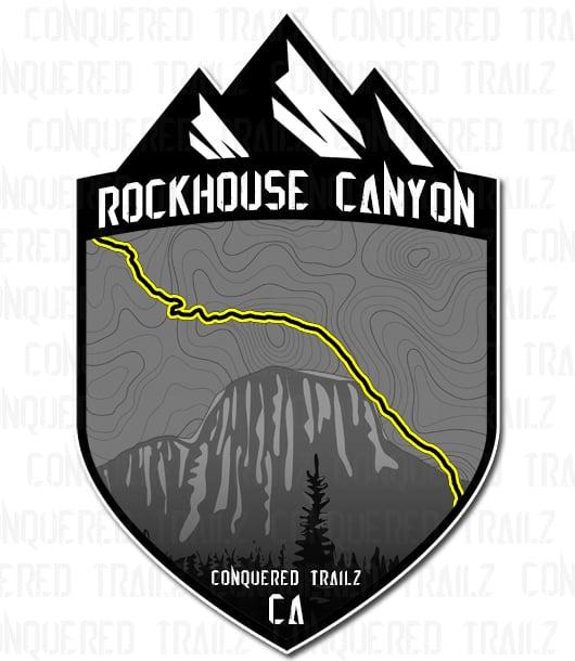 "Image of ""Rockhouse Canyon"" Trail Badge"