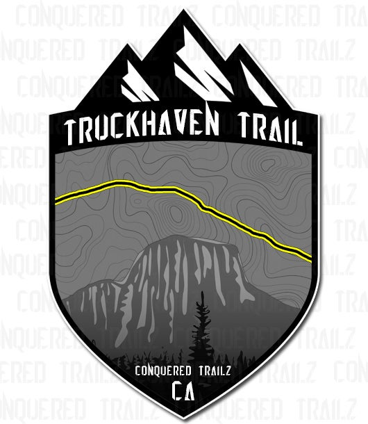"Image of ""Truckheaven"" Trail Badge"