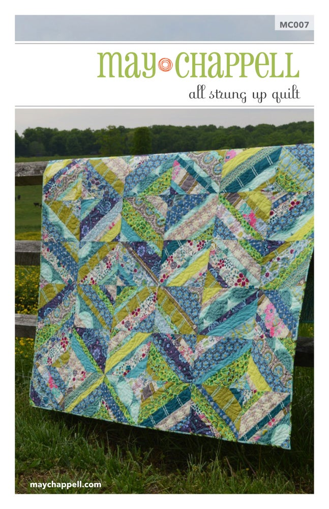 Image of All Strung Up Quilt