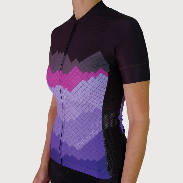 Women's Cerro Short Sleeve Jersey - mekong