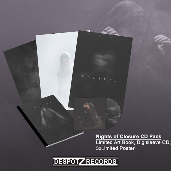 Image of Adna - Nights of Closure CD Pack (Limited Art Book/CD/3x Poster)