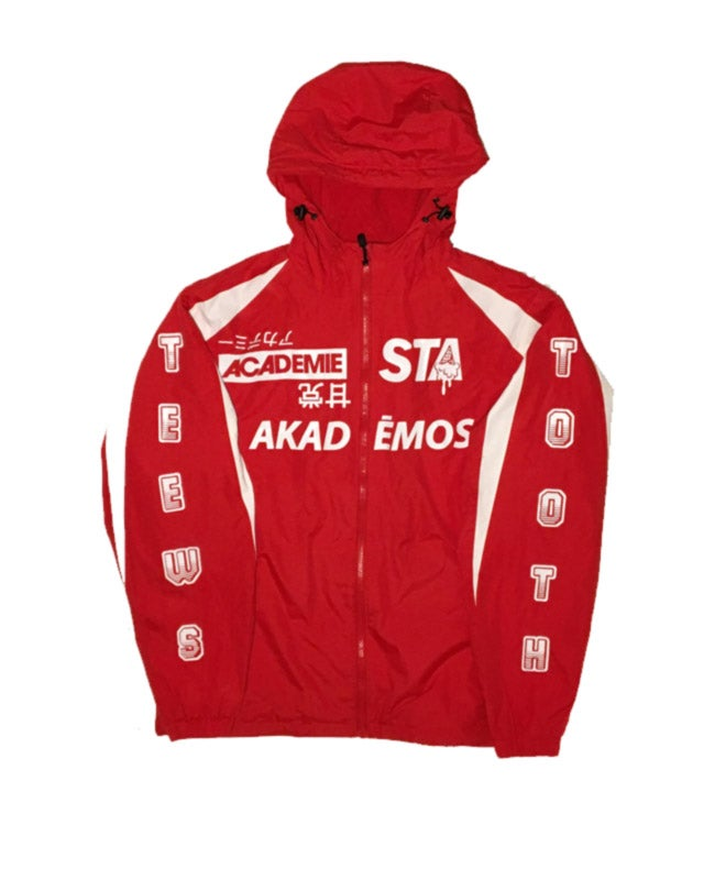 Image of STA Fredo Track Jacket Red