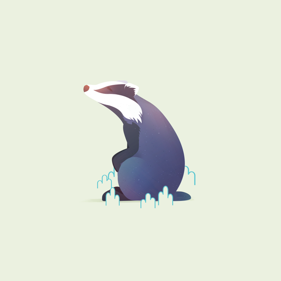 Image of Animal Minis vol. 1 - Badger