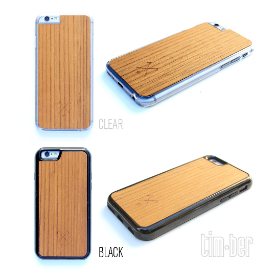 Image of TIMBER Wood Skin Case (iPhone, Samsung Galaxy) : Halfsumo Kamae