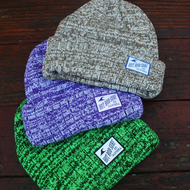 Image of Beanie ~ HOT ROD SURF ~ Hot Rod Surf ® -