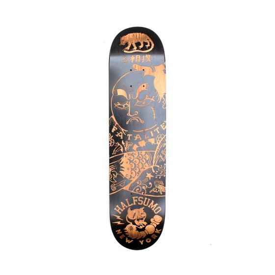 Image of Laser Engraved Skatedeck - Limited Edition Halfsumo