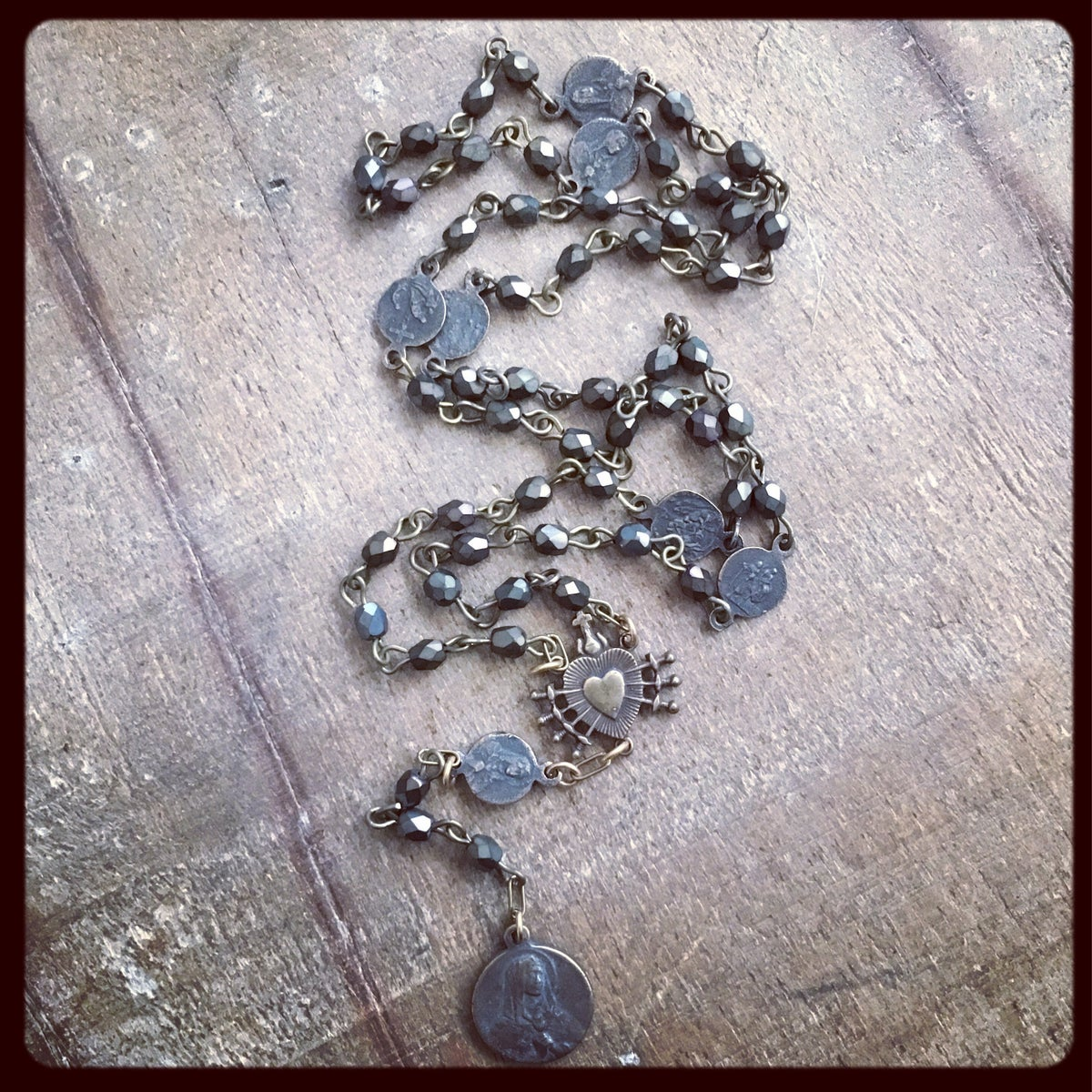 Seven Sorrows Of Mary Rosary Atelier Zovak