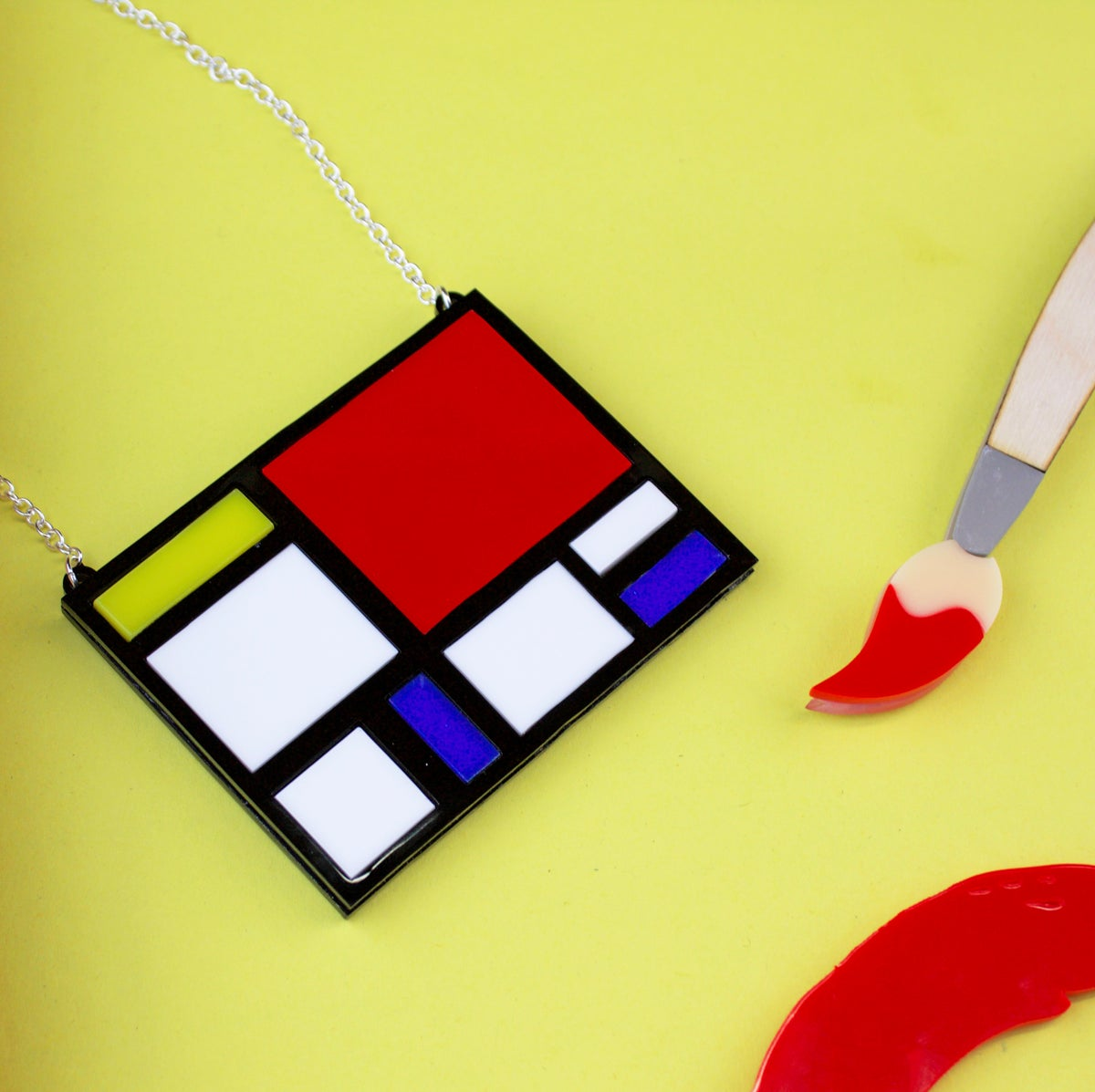 Image of Mondrian Necklace