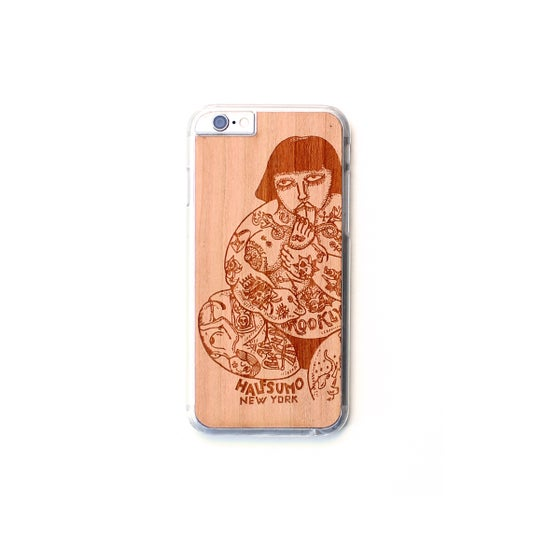 Image of TIMBER Wood Skin Case (iPhone, Samsung Galaxy) : Halfsumo Shibo