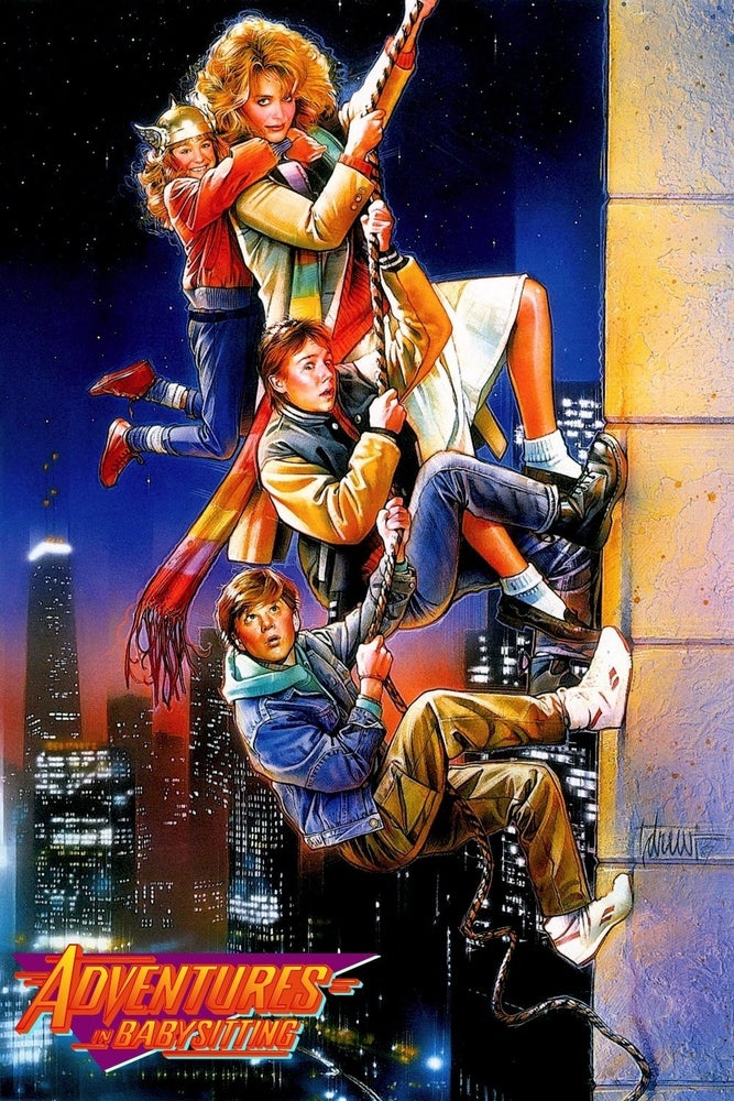 Image of Autographed Adventures in Babysitting mini-poster