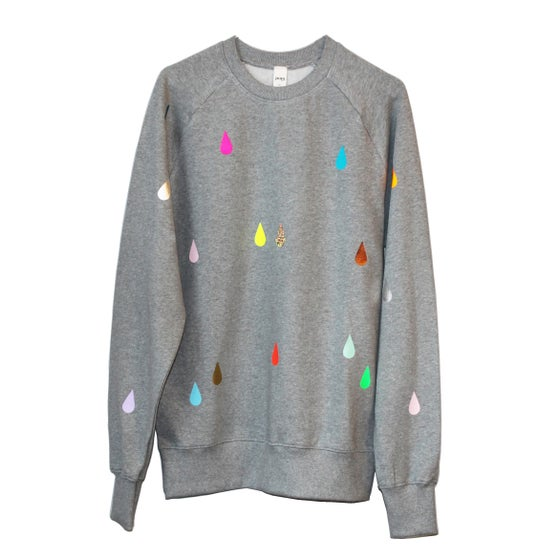 Image of Sweater drops grey adults