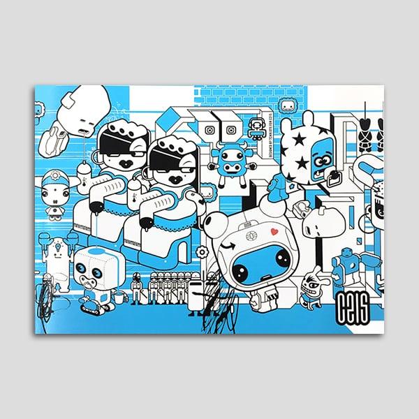 Image of C215, le livre bleu