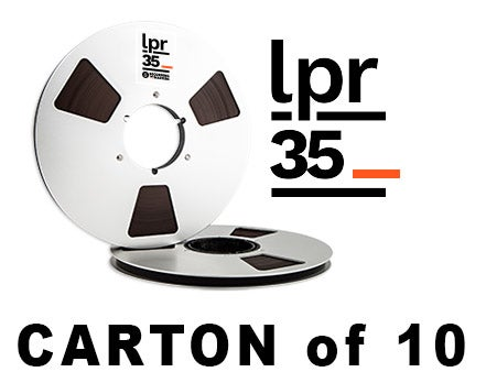 "Image of CARTON of LPR35 1/4"" X3600' 10.5"" Metal Reel Hinged Box"