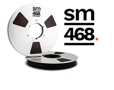 "Image of SM468 1"" X2500' 10.5"" Metal Reel Hinged Box"