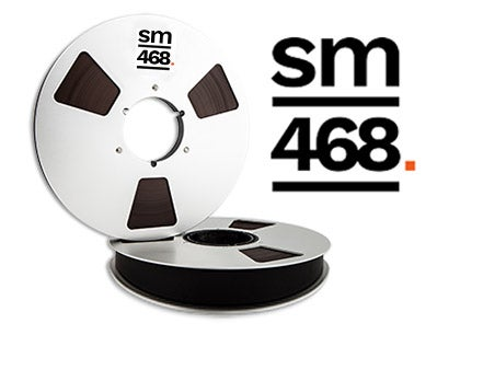 "Image of SM468 2"" X2500' 10.5"" Metal Reel Hinged Box"
