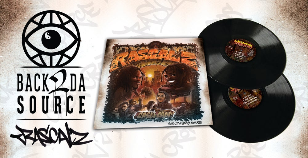 Image of Rascalz - Cash Crop 2xLP (20th Anniversary Gatefold Edition) SOLD OUT