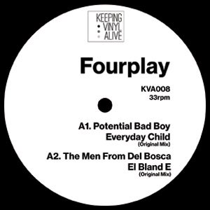 "Image of Various Artists - Fourplay - KVA008 - 12"" Vinyl - SOLD OUT"